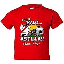 Camiseta niño De tal palo tal astilla Rayo Vallecano fútbol