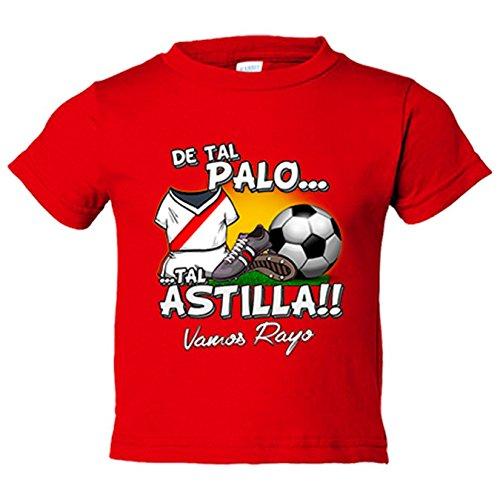 Camiseta niño De tal palo tal astilla Rayo Vallecano