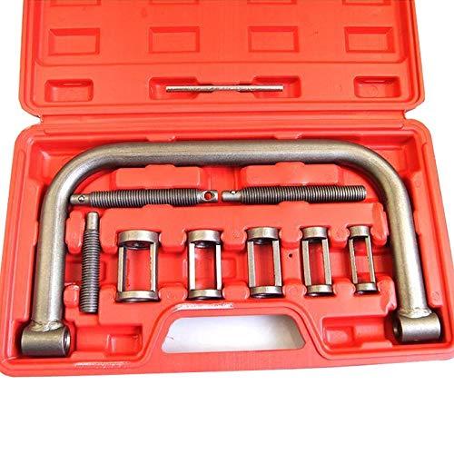 Merry Tools HK 10PC 5 en 1 kit de herramienta de compresor de primavera válvula portátil para coches Vans Bicicletas 450340