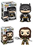 Funko POP! Justice League: Batman + Aquaman – DC Stylized Vinyl Figure Set NEW