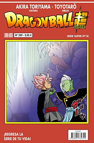 Dragon Ball Serie roja nº 229 (Manga Shonen) por Akira Toriyama