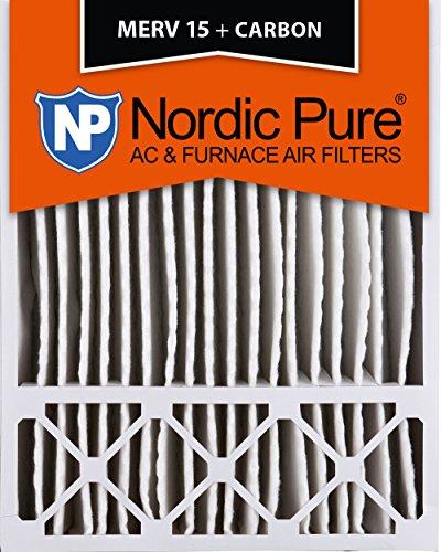 20x 25x 5HONEYWELL Ersatz Merv 15Plus Carbon AC Ofen Air Filter, 4Stück (Beseitigen Haustier Gerüche)