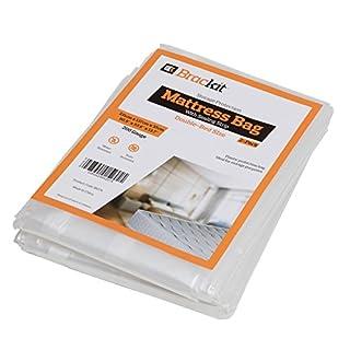 Matratzentasche zum Verstauen von Doppelbettmatratzen, Gewicht: 200 g Maße: 231 x 137 x 35 cm. Anzahl: 2 Stück.