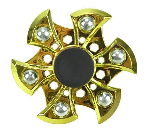 Toyland Jouet de nouveauté Spinarooz Hand Spinner - Fidget Spinner - 3 en 1 - Saut, Bounce, Spin - Or