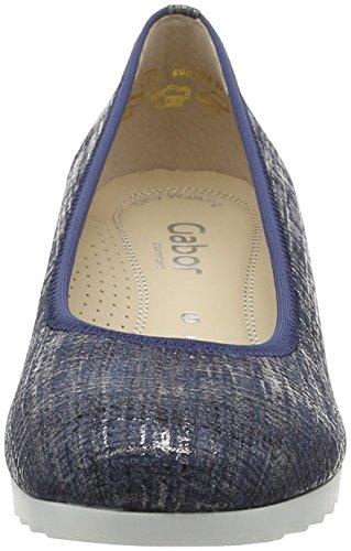 Gabor Comfort, Ballerines Femme Bleu (jeans Jute 66)