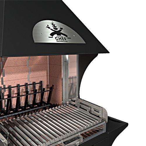 Masterchef barbecue fred small dynamic barbecue - Caminetti da esterno ...