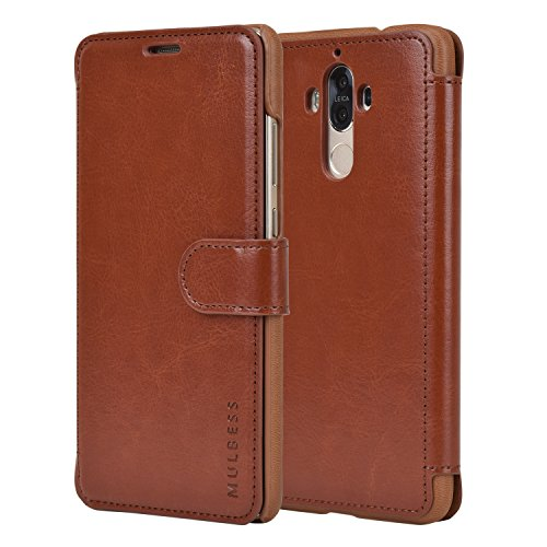 huawei-mate-9-case-59-inchcoffee-brown-wallet-caselayered-dandy-pu-leather-flip-cover-with-credit-ca