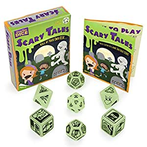Imagination Generation Story Time Dice: Scary Tales–Glows in The Dark. By