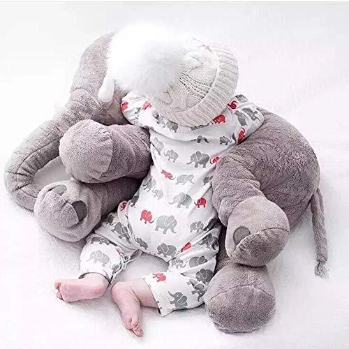 UBAOXIN Elefante Peluche Bebe Grande Enorme(60 * 55cm) Suave y Lindo Adecuado...
