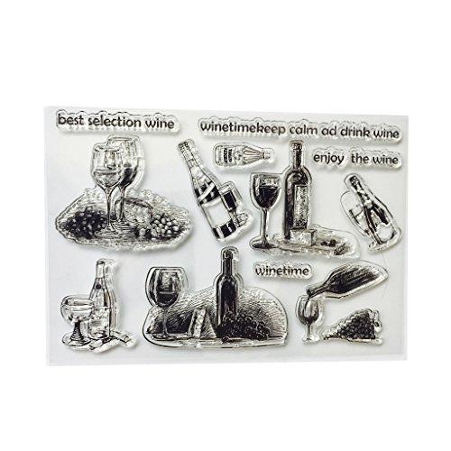 likon Klar Stempel Cling Seal Sammelalbum Präge Album Decor Craft ()