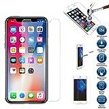 Huhuswwbin Pellicola Protettiva, 2.5D 9H Pellicola Proteggi Schermo in Vetro temperato Anti-graffio/Anti-frantuma/Premium per iPhone X XS Max XR - per iPhone XS Max