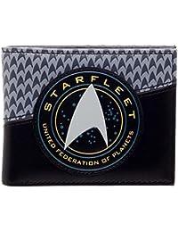 Official Mens Star Trek Star Fleet Logo Badge Bi-Fold Wallet - New