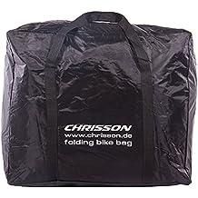 CHRISSON bicicleta plegable bicicleta plegable para bolsa de transporte bolsa negro para plegable ruedas de 14a 20pulgadas