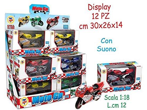 Teorema Giocattoli- Moto G.P con Suono Colori, Multicolore, 3.TE60609