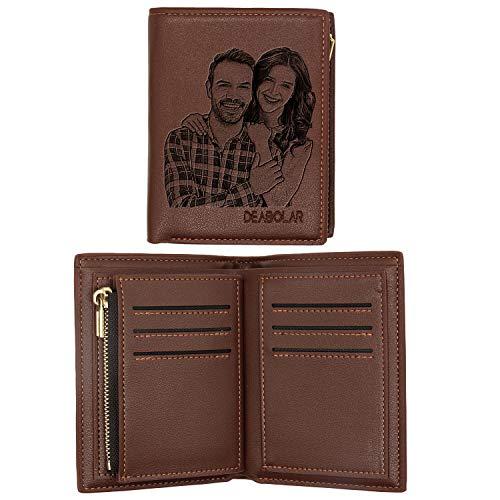 ABIsedrin Billetera Personalizada Para Los Hombres