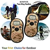 Cool Kids Walkie Talkies for Little Boys Gifts Spy Talking Gear Detective Army Toys Long Range Military Camo Two Way Radio Electronics Toys Kids Spy Games Outdoor Camping Hunting Hiking Accessories