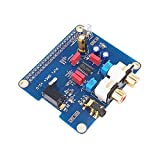 iHaospace PIFI Digi DAC + HIFI DAC Audio PCM5122 Soundkartenmodul I2S Port für Raspberry Pi 3 2 Modell B B + Audio Karte Pinboard V2.0 Schild
