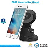 #10: ZAAP® (USA) QUICKTOUCH Three Premium Car Mount mobile holder Universally Compatible for Interior Fittings Car Windshield, Car Dashboard & Working Desks (3rd Generation upgrade-Made in KOREA)