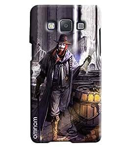 Omnam Magician Joker Printed Designer Back Cover Case For Samsung Galaxy A5