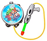 #6: Sunshine Gifting Holi Water Gun with Pressure with Back Holding Tank (1.0 L) - Grey