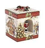 Villeroy Boch & Christmas Toys Paket groß, rechteckige Markt Porzellan rot 18,5x 18x 26cm