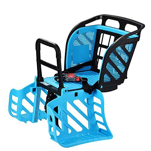 LOVEQIZI Fahrrad Kindersitz Hinten für 1-6 Jahre alte Kinder Baby Sitze Geeignet für Mountain Folding Bike,A