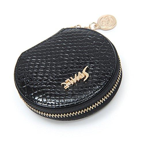 portafoglio donna/Sacchetto di monete/Moda europea tondo piccolo cambiamento borsa-D A