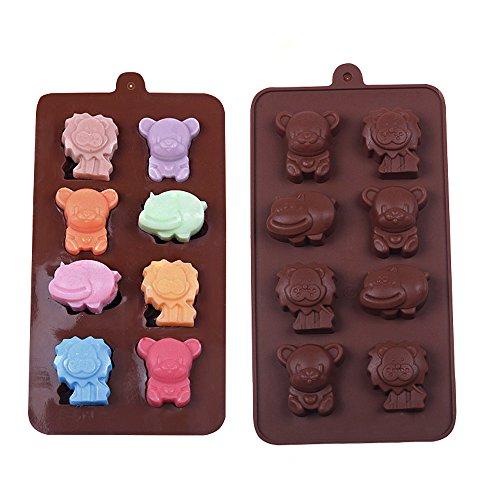 YOKIRIN® Stampo in Silicone Formi di Leone Accessorio per la Decorazione Della Torta del Fondente di Cioccolato stampi Zucchero Torte Stampi Sapone