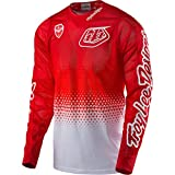 Troy Lee Designs Air Starburst White/Red 2017 MX Jersey