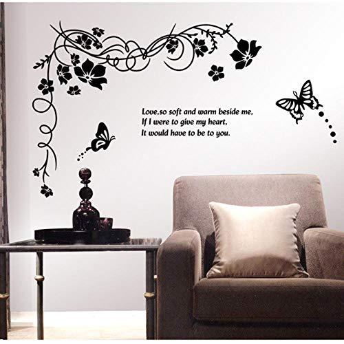 Wohnzimmer Schlafzimmer Tv Hintergrund Wandmalerei Niedliche Blume Schmetterling Schlafzimmer Wandaufkleber Für Mädchen Jungen Tapete Hintergrund Kinder Wandbild