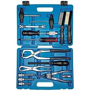 SW-Stahl S1850 Profi Bremstrommel Werkzeugsatz im Koffer, 15 teilig
