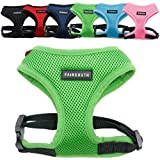 FAIRSOUTH Soft Air Mesh Harness for Dogs/Puppies