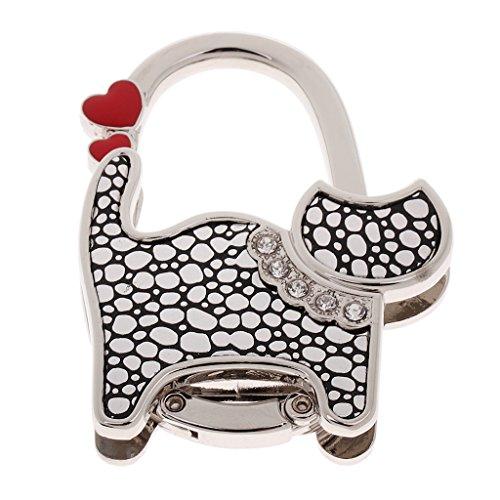 Appendi borsa porta-Gancio per borsetta pieghevole, a forma di gatto