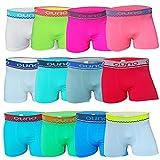 6-12 Stück Kinder-Jungen-Boxershorts-Unterwäsche ✓ Unterhose für Jungs Schlüpfer ✓ Shorts for Kids ✓ Unterhosen Boxershort Retroshorts Underwear von SGS (6/8, Modell 2 - 12 Stück)