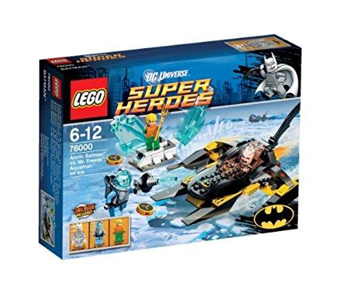 Super Sous MrFreeze Heroes De Aquaman Jeu La Artic 76000 Contre Universe Glace Batman Lego Dc Construction lFcK1J