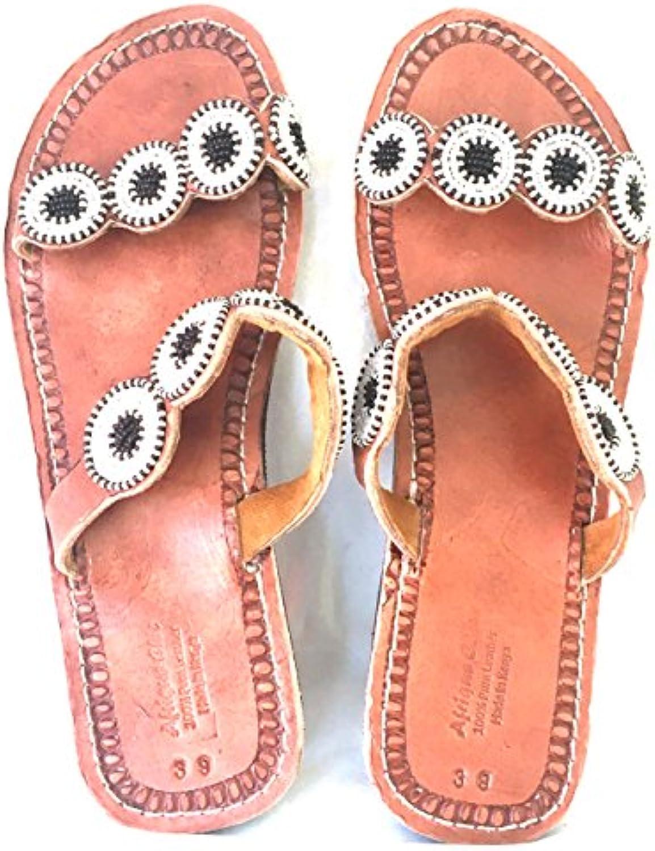 Generic Handgefertigte Masai Sandalen 2018 Letztes Modell  Mode Schuhe Billig Online-Verkauf