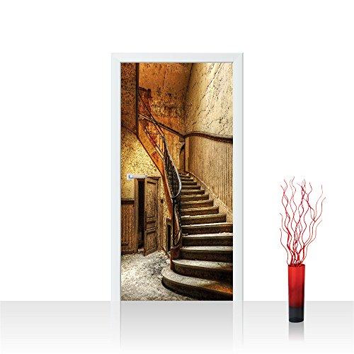Türtapete selbstklebend 91x211 cm EXTRA PROTECT Tür Fototapete Türposter Türpanel Foto Tapete...