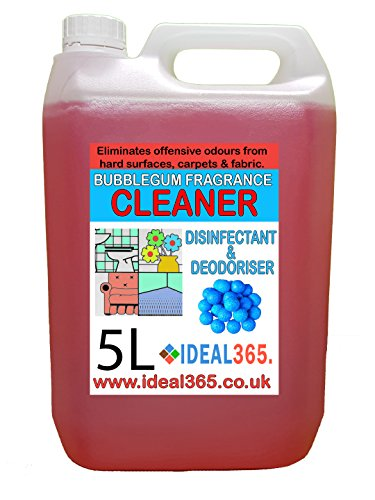 Price comparison product image Disinfectant And Deodoriser Bubblegum Fragrance Cleaner 5 Litres