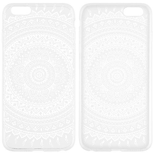 mumbi Hülle für iPhone 6 Plus 6s Plus Mandala