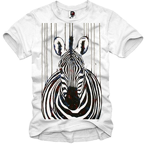 E1SYNDICATE T-SHIRT DOPE COSMIC ZEBRA HIPSTER WASTED YOUTH TIGER HORSE S-XL (T-shirt Horse Youth)