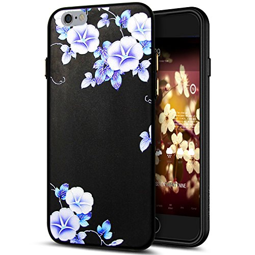 Cover iPhone 6S Plus,Cover iPhone 6 Plus,Custodia iPhone 6S Plus / iPhone 6 Plus Cover,ikasus® Cover custodia per iPhone 6S Plus / 6 Plus disegno colorato TPU con 3d arte pittura floreale fiore fiori  Fiore #7