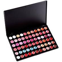 palette 66 couleur Brillant Rouge a levre protection lipstick Gloss shine