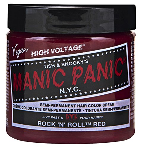 Manic Panic semi-permament Haircolor Rock N Roll Rosso 4oz