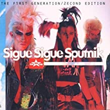First Generation by Sigue Sigue Sputnik (1996-08-05)