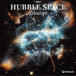 """Goldistock–""""Hubble Space Telescope"""" respectueux de l'environnement Grand Calendrier mural–30,5x 61cm (ouvert)–Papier épais et robuste–Élargissez votre Univers et votre Esprit 2019"""