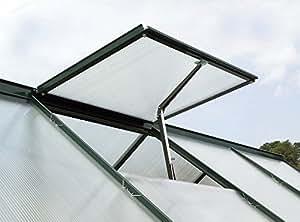 Grow It Gardman Greenhouse Auto Vent, Green, 10x5x38 cm