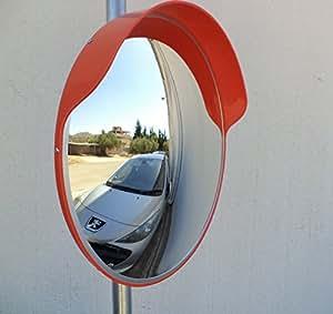 S curit miroir convexe ext rieur 60 cm bricolage for Miroir convexe exterieur