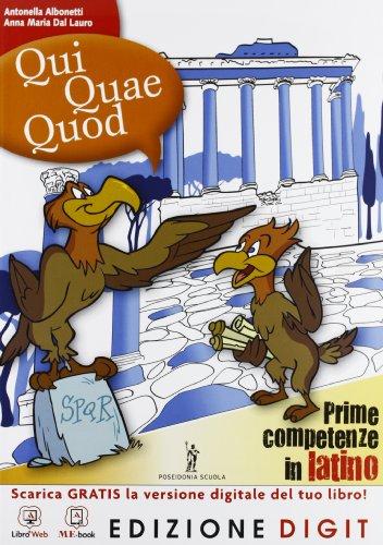 Qui Quae Quod - Volume unico + Vocabolario. Con Me book e Contenuti Digitali Integrativi online
