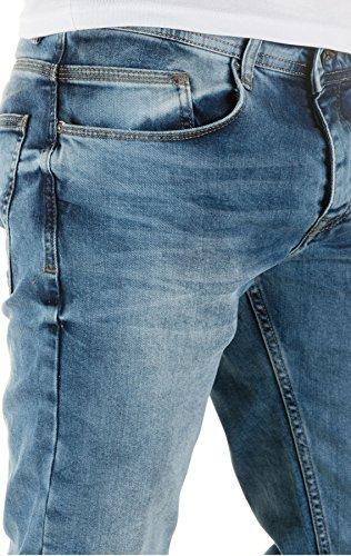 WOTEGA Herren Jeans Alistar slim fit Blau (Forever Blue 164019)
