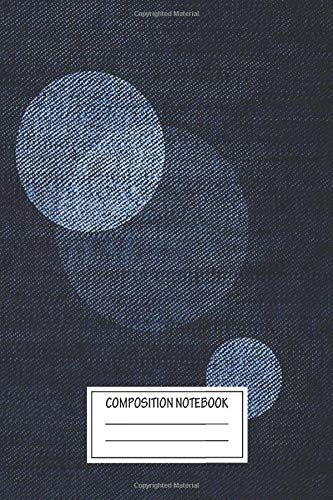 Notebook: Denim Moon , Journal for Writing, Size 6